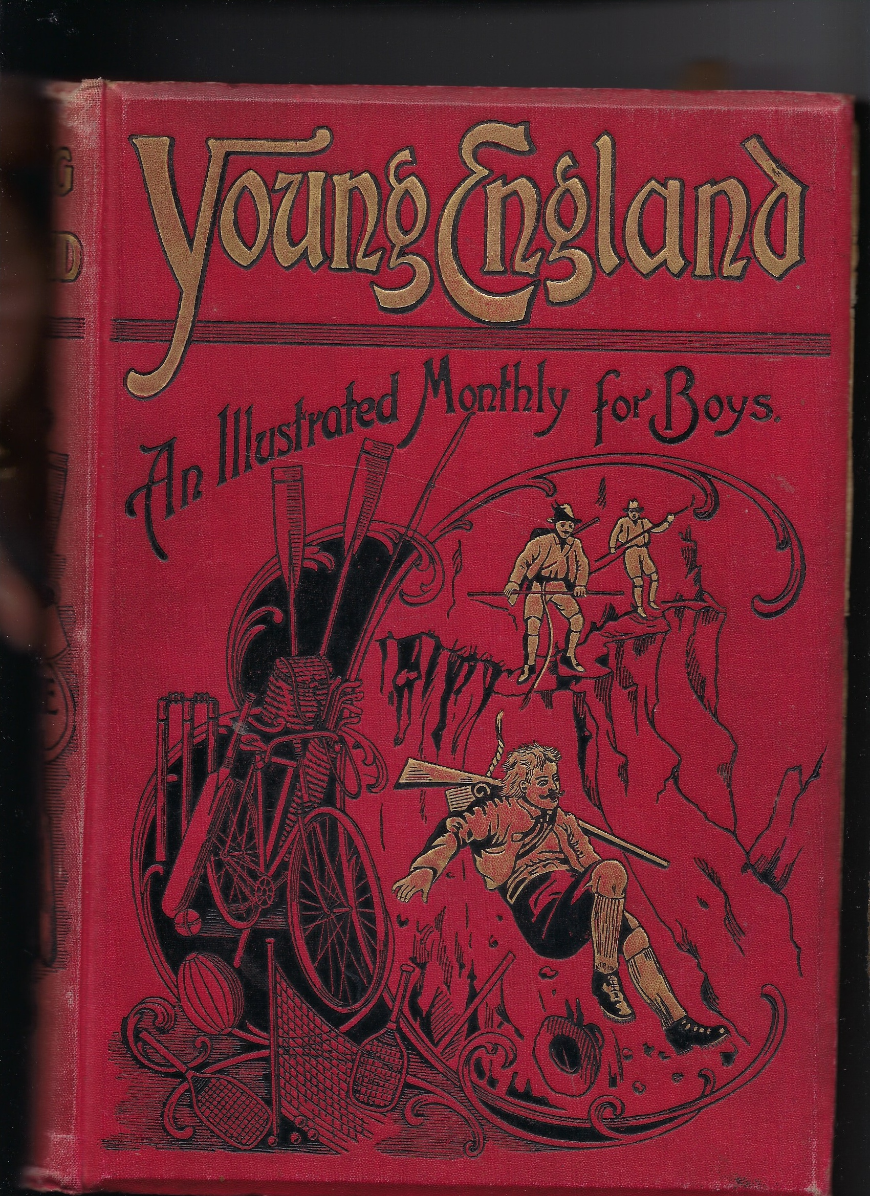 Image for Young England - an Illustrated Monthly for Boys - Vol XXII
