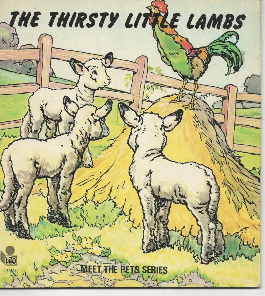 Image for The Thirsty Little Lambs