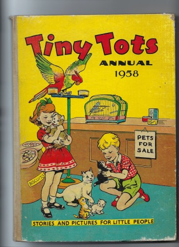 Image for Tiny Tots Annual 1958