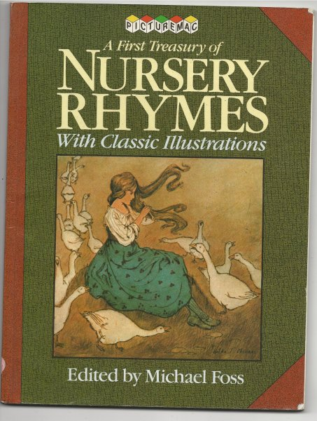 Image for A First Treasury of Nursery Rhymes