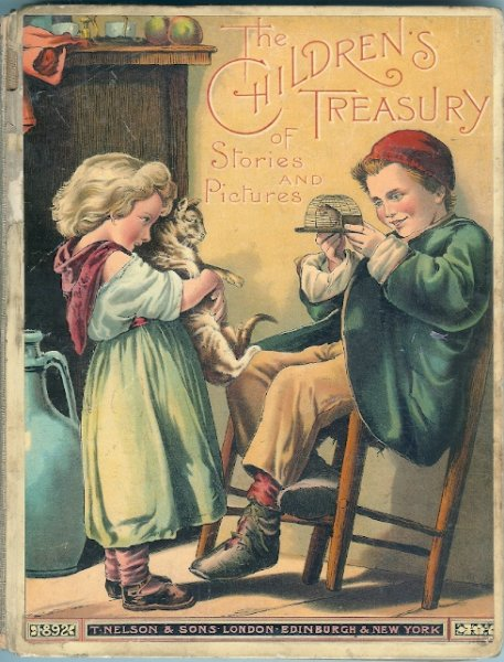 Image for The Children's Treasury of Pictures and Stories 1892