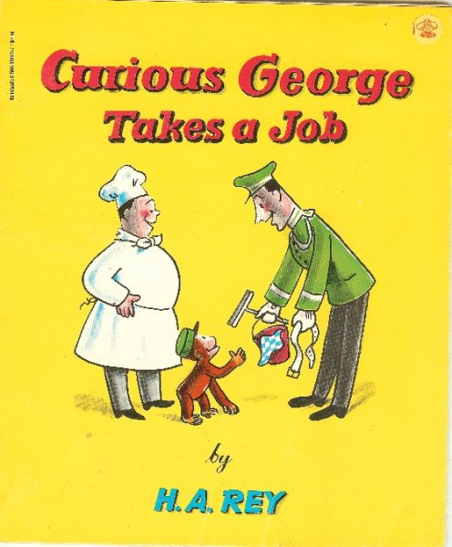 Image for Curious George Takes a Job