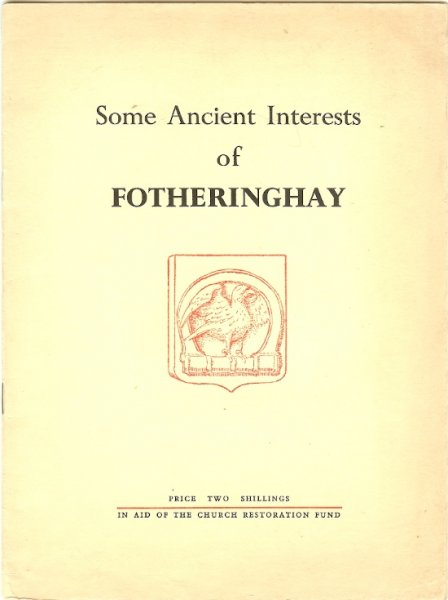 Image for Some Ancient Interests of Fotheringhay