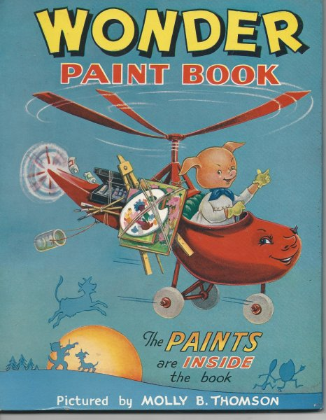 Image for Wonder Paint Book