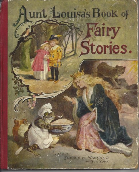 Image for Aunt Louisa's Book of Fairy Stories and Wonder Tales