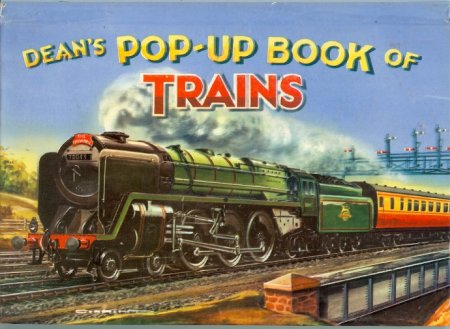 Image for Dean's Pop-Up Book of Trains