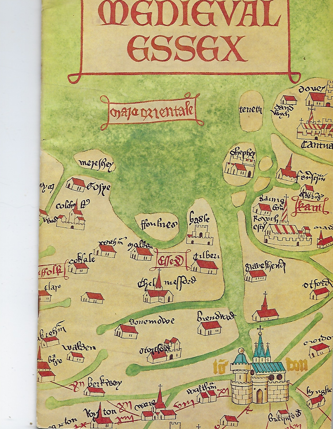 Image for Medieval Essex From the Conquest to the Eve of the Reformation (Booklet)
