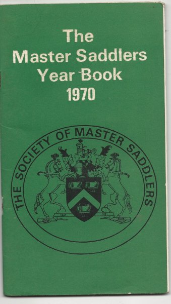 Image for The Master Saddlers Year Book 1970