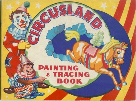 Image for Circusland Painting & Tracing Book