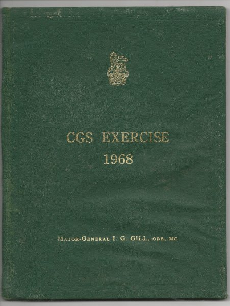 Image for The Australian Military Forces - CGS Exercise 1968