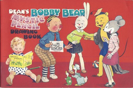 Image for Dean's Bobby Bear Mystic Pencil Drawing Book