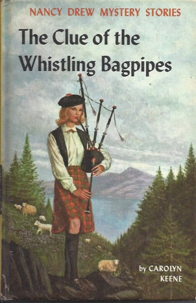 Image for The Clue of the Whistling Bagpipes : Nancy Drew Mystery Story