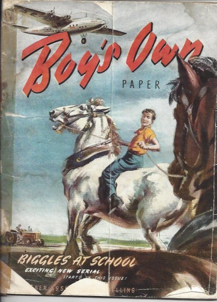 Image for Boy's Own Paper Vol. 73 No. 1 October 1950 - Contains Part 1 of Serialisation of Biggles At School