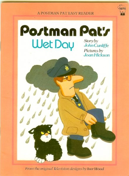 Image for Postman Pat's Wet Day (Postman Pat - Easy Reader)