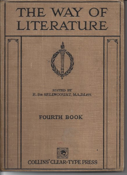 Image for The Way of Literature: Fourth Book
