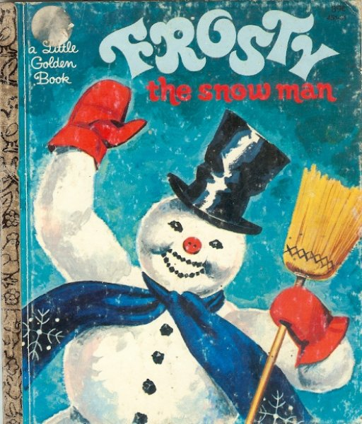 Image for Frosty the Snowman - a Little Golden Book adapted from the song of the same name