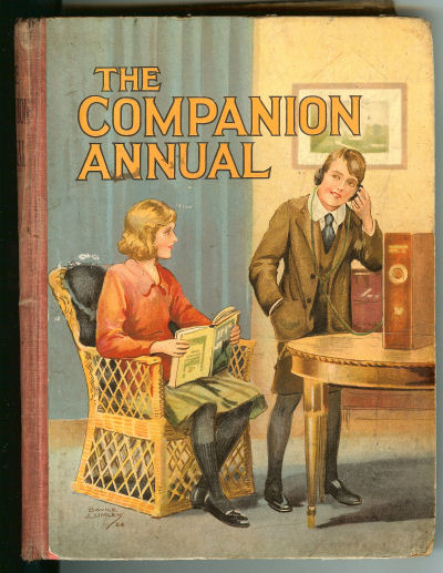 Image for THE COMPANION ANNUAL VOLUME - Interesting Stories, Articles, and Pictures for Boys and Girls II