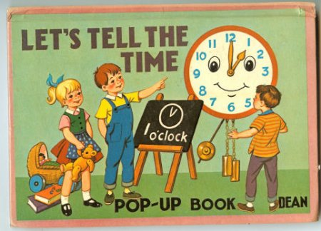Image for Let's Tell the Time Pop-Up Book