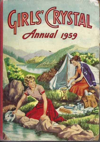 Image for Girls' Crystal Annual 1959