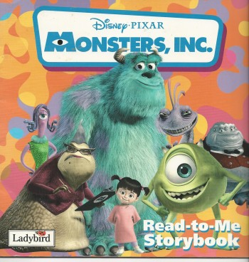 Image for Monsters, Inc read to me storybook