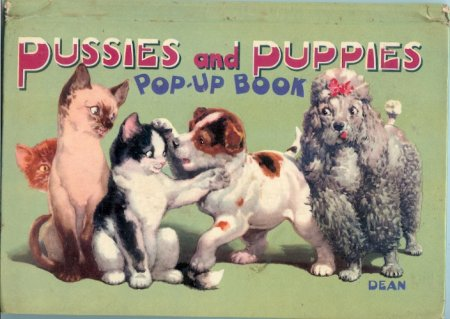 Image for Pussies and Puppies Pop-Up Book