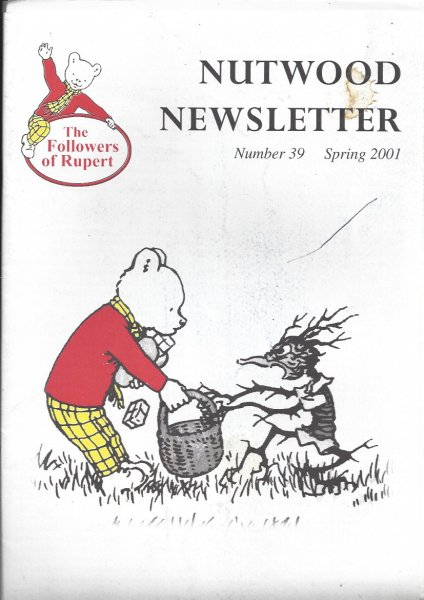 Image for Nutwood Newsletter No, 39 - Spring 2001