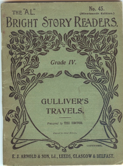 Image for The A. L. Bright Story Readers No. 45 , Gulliver's Travels Into Lilliput and Brobdingnag