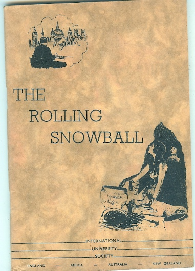 Image for Travelling Along the Golden Pathway The Rolling Snowball