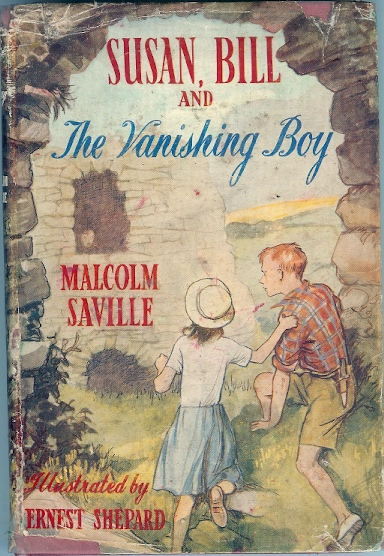 Image for Susan, Bill and the Vanishing Boy