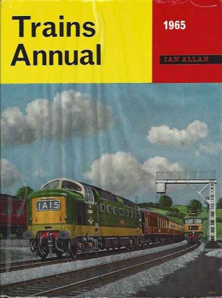 Image for Trains Annual 1965