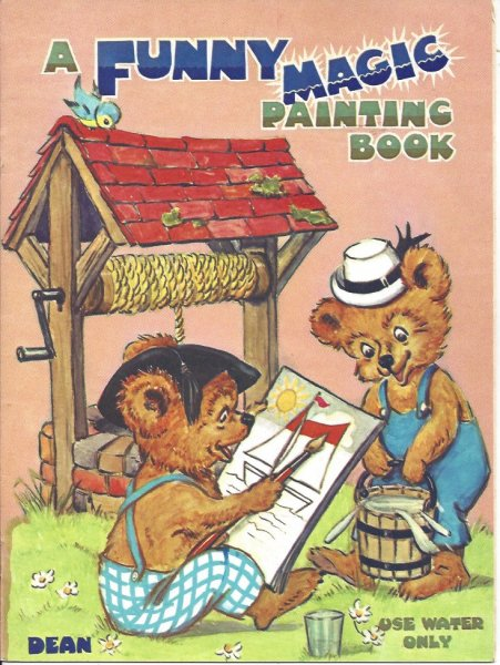 Image for A Funny Magic Painting Book