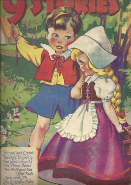 Image for 9 Stories - Hansel & Gretel; the Ugly Duckling; the Green Apples; the Three Bears; the Wolf and the 5 Kids; Jack & Jill; the Birthday Cake;  The Princess and the Frog; the Golden Feather