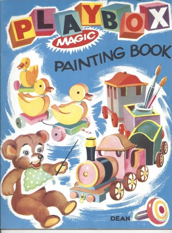 Image for Playbox Magic Painting Book