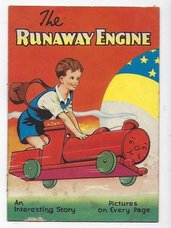 Image for The Runaway Engine an interesting story - pictures on every page