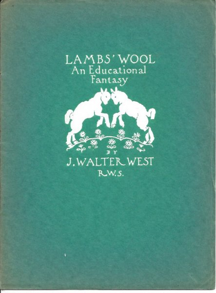 Image for Lambs' Wool An Educational Fantasy for Children