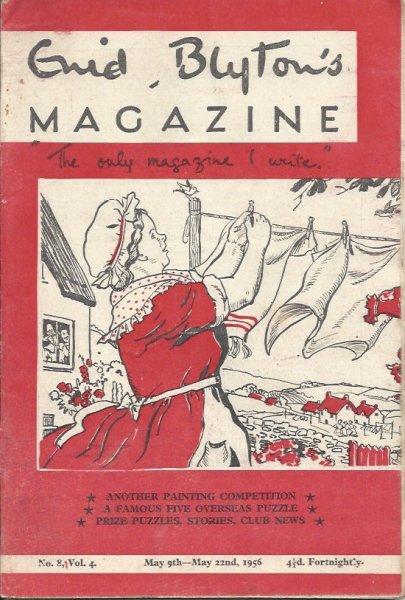 Image for Enid Blyton's Magazine 'the Only Magazine I Write' No. 8 Vol. 4 May 9th - May 22nd 1956  (Issued Fortnightly)