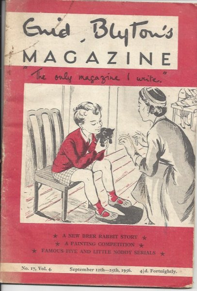Image for Enid Blyton's Magazine 'the Only Magazine I Write' No. 17 Vol. 4 September 12th - 25th 1956  (Issued Fortnightly)