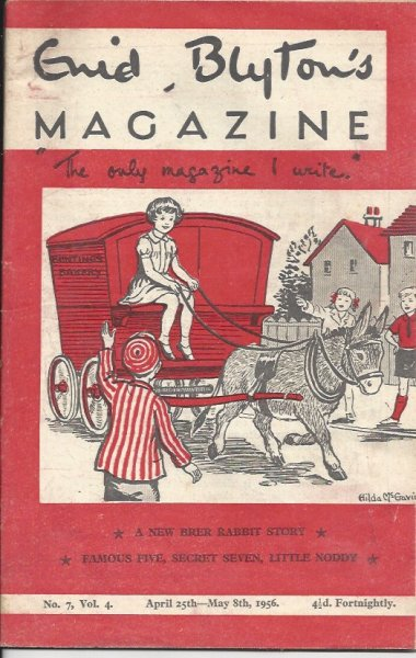 Image for Enid Blyton's Magazine 'the Only Magazine I Write' No. 7, Vol. 4 April 25th - May 8th 1956  (Issued Fortnightly)