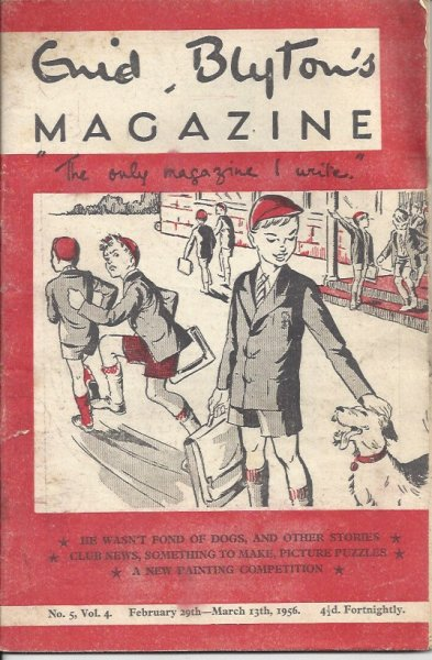 Image for Enid Blyton's Magazine 'the Only Magazine I Write' No. 5, Vol. 4 February 29th - March 13th, 1956  (Issued Fortnightly)