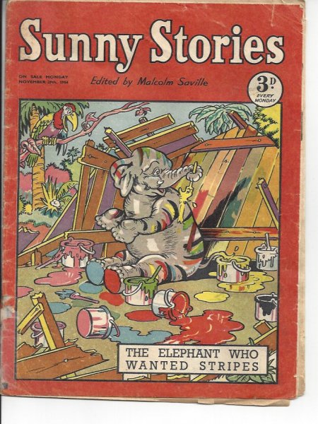 Image for Sunny Stories - November 27th 1954