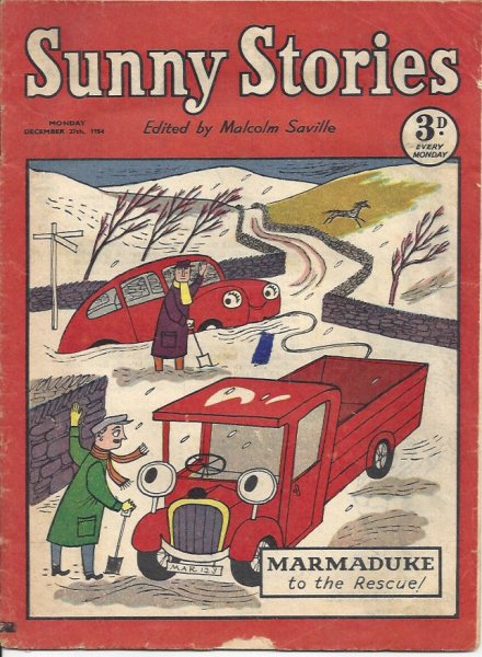 Image for Sunny Stories - December 27th 1954