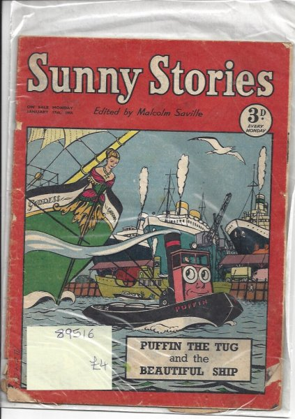 Image for Sunny Stories - January 17th 1955