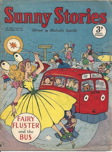 Image for Sunny Stories - Fairy Fluster and the Bus - Monday September 12th, 1955