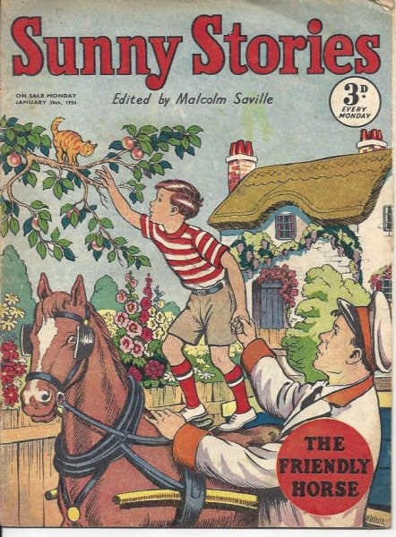 Image for Sunny Stories - the Friendly Horse - Monday January 30th 1956