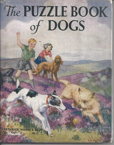The Puzzle Book of Dogs