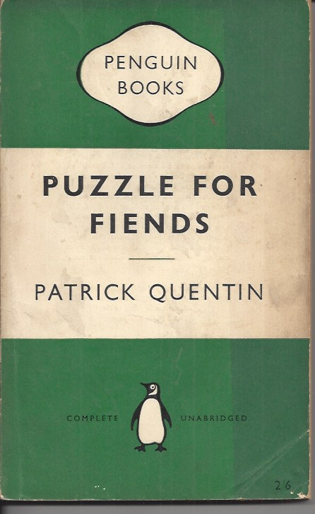 Image for Puzzle for Fiends A Peter Duluth Mystery