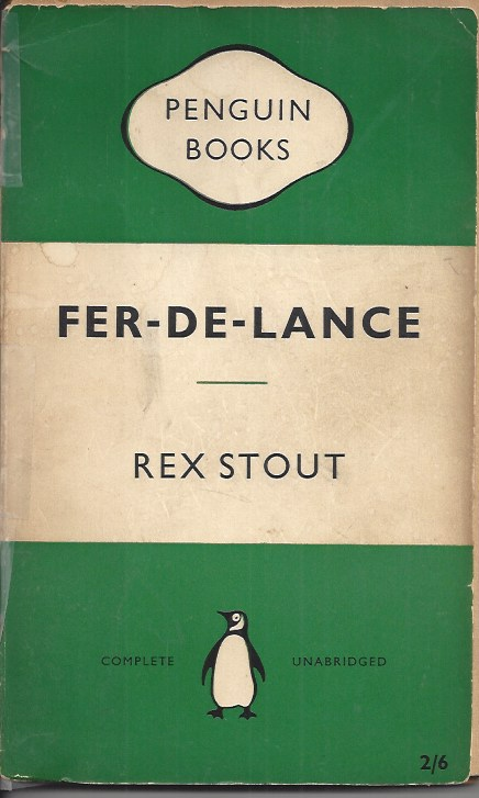 Image for Fer-De-Lance A Nero Wolfe Mystery