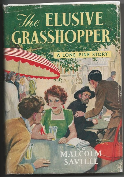 The Elusive Grasshopper (Author Signed Copy)