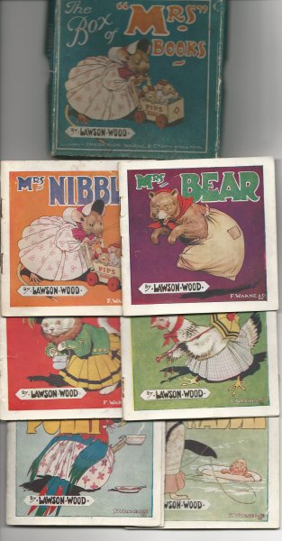 Image for The Box of 'mrs' Books - Contains Mrs Nibble; Mrs Bear; Mrs Cackle; Mrs Purr; Mrs Waddle & Mrs Polly;