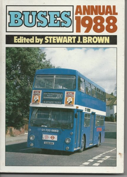 Image for Buses Annual 1988